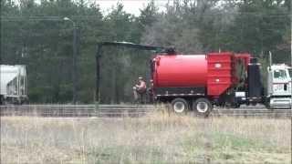HI Rail Vacuum Truck