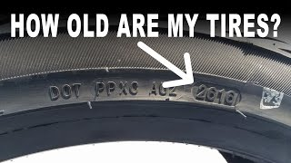 How old are my tires?  // How to check tire age