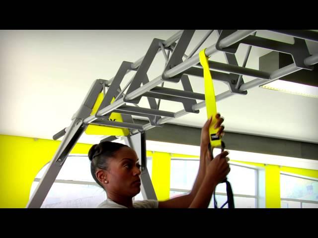 Видео TRX тренажер