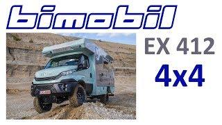 Автодом 4х4 на базе IVECO Bimobil  EX 412