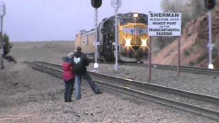 Union Pacific Big Boy 4014 Over Sherman Hill
