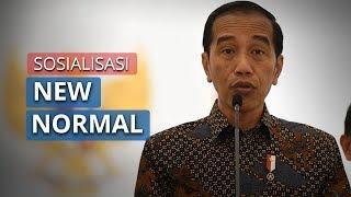 Presiden Jokowi Minta Para Menteri untuk Lakukan Sosialisasi New Normal secara Masif