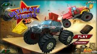 Ultimate stunts 3D- A10.com #No one Dies  #full flash game walkthrough