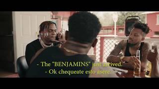J Moreno   Benjamins Ft. Famous Kid Brick (Video Oficial)