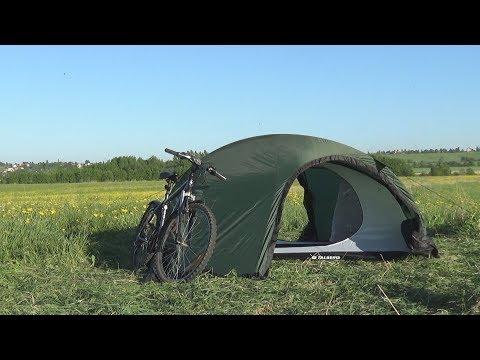 Смотреть видео Палатка Talberg Sund 2 Plus