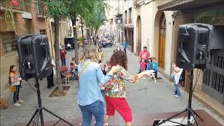 Animación infantil en la calle para las fiestas de otoño