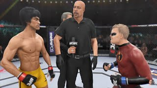Bruce Lee Vs Dash INCREDIBLE 2 | EA Sports UFC 3