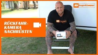 Auto VOX W7 - kabellose Rückfahrkamera am Wohnwagen / Wohnmobil nachrüsten inkl. Verkabelung   DIY