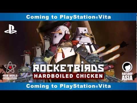 Rocketbirds: Hardboiled Chicken míří na Playstation Vita