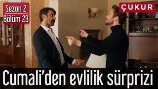 Çukur 2.Sezon 23.Bölüm   Cumali'den Evlilik Sürprizi