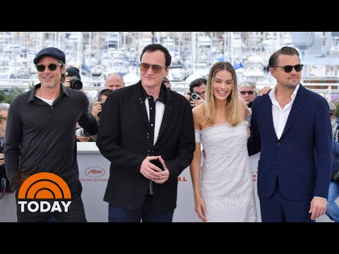 Leonardo DiCaprio, Brad Pitt, Robbie And Tarantino Talk 'Once Upon A Time In Hollywood' | TODAY
