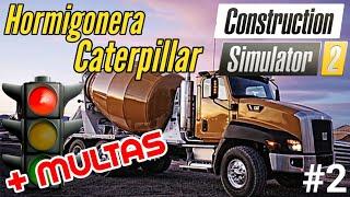 Construction Simulator 2 - Reformas entre multas y peleas vecinales   Hormigonera Caterpillar