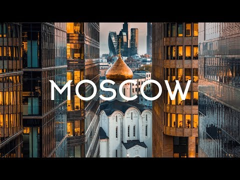 Gorgeous Aerial Tour of Moscow, Russia
