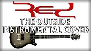RED - The Outside (Studio Instrumental Cover)