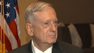Defense Secretary Mattis says he has no issues with the media