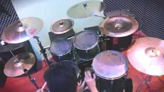 """Aldreen Alcantara """"Broken Circuit"""" - The Word Alive Drum Cover HD"""