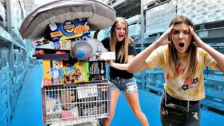 I'll BUY You Whatever You Can Fit in the CART with Taylor and Vanessa