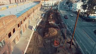 DJI Mavic Air 2 Drone footage. The former Del Monte warehouse in Alameda.