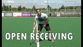 Open Receiving Field Hockey Tutorial | Hertzberger TV