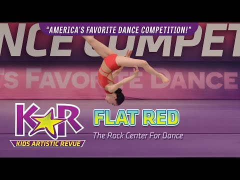 """Flat Red"" from The Rock Center For Dance"