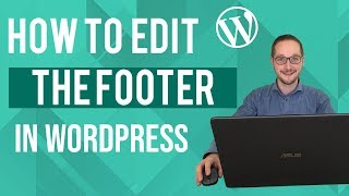 Footer wijzigen in WordPress Tutorial