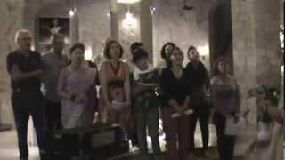 Il Coro Multietnico Balzani Esegue OI DIVOIHA RODNA Montefiascone 7 Settembre 2013