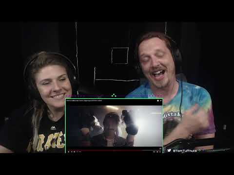 [Tried not to laugh, but failed] Eskimo Callboy feat Sasha - Hypa Hypa Reaction with Wife