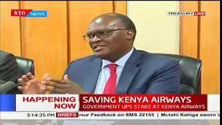 Eleven local banks set to acquire 38.1 percent stake on national carrier Kenya Airways