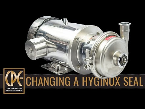 Changing the Seal on an Inoxpa Hyginox Pump