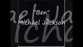 BEN  - Michael Jackson  Letras En Ingles