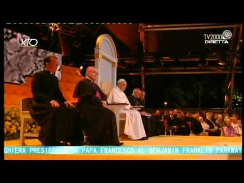 Veillée de prière du Pape avec les Familles à Philadelphie