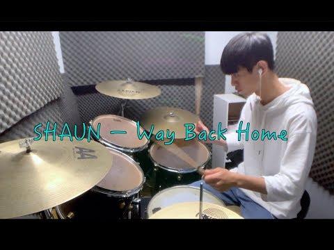SHAUN (숀) – Way Back Home (feat. Conor Maynard) by 李科穎KE Drum Cover