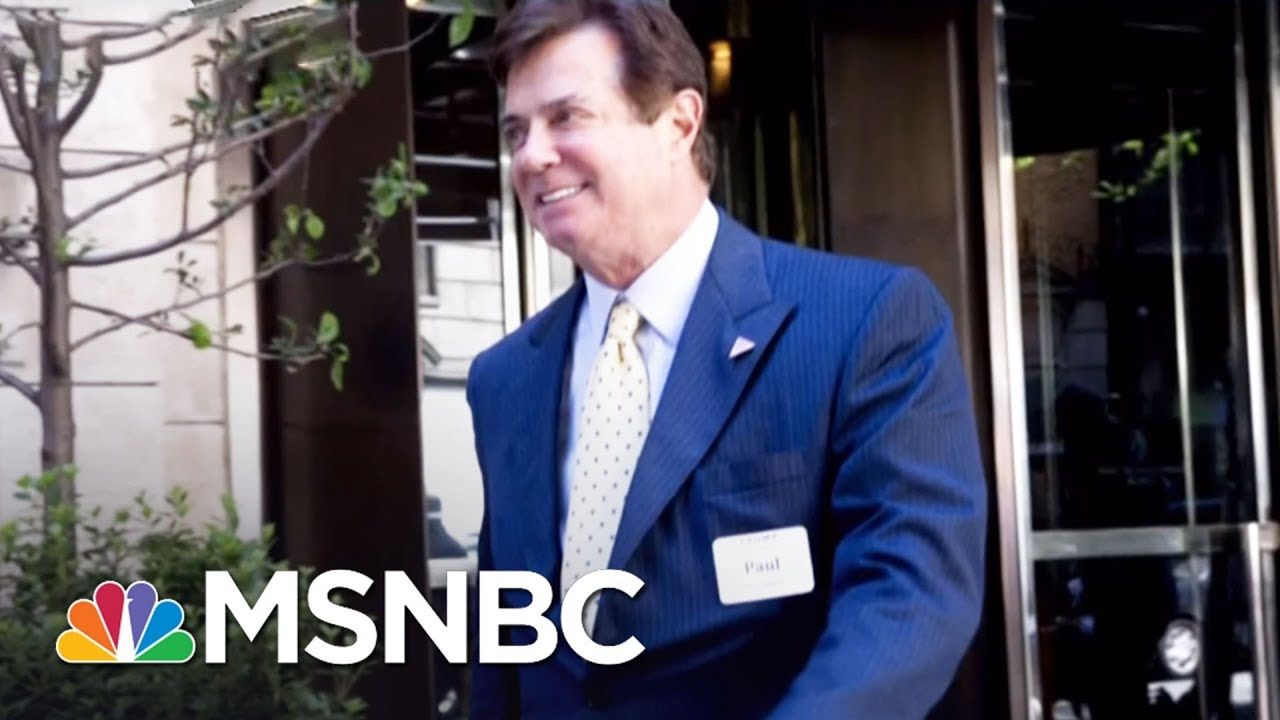 Collusion Back In Focus As Robert Mueller Connects President Trump Campaign To Russian Agent | MSNBC thumbnail