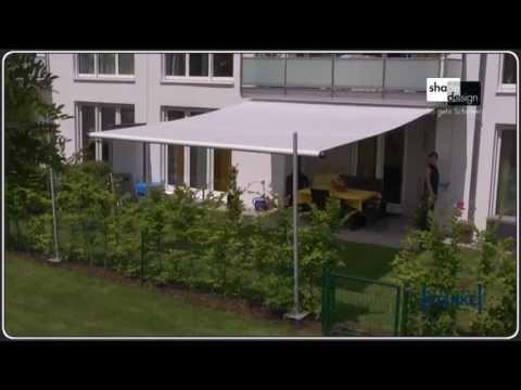 Twister-Sonnensegel - Das Segel No. 1 - rollbar, flexibel, günstig - Die Beschattung für Terrassen!
