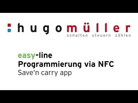 easy-line - NFC-Programmierung via Smartphone der Digitalen Schaltuhren der easy-line