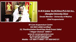 Interview with Dr. M.N. Sankar