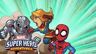 Marvel Super Hero Adventures: First Day of School (Part 1) | Marvel Read!