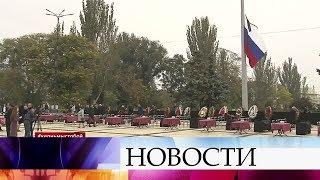 В Керчи пройдет церемония прощания с погибшими в политехническом колледже.