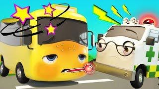 Buster Gets Sick - Go Buster |  BRAND NEW! | Baby Songs | Cartoons For Kids | Little Baby Bum