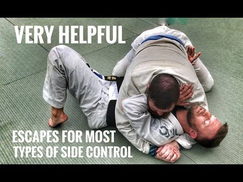 Jiu-Jitsu Escapes | Ways Out of Side Control, Scarf & Knee on Belly