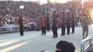 Wagah Border Ceremony - Pakistan Side