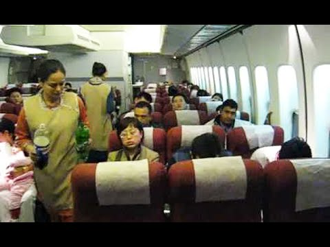 What PIA crew did with ill passenger in aircraft ? watch video