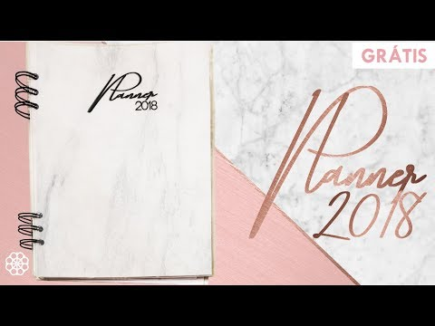 Planner 2018 - Para baixar GRÁTIS
