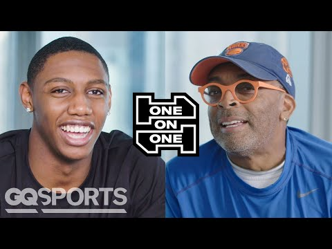 RJ Barrett and Spike Lee Have an Epic Conversation   One on One   GQ Sports