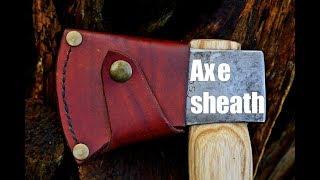 Leatherworking - Axe sheath