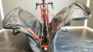 Bike Bunker For Serious Cyclists. @SCICON Aerocomfort 3.0 Travelling Bag. How To Pack Your Bike.