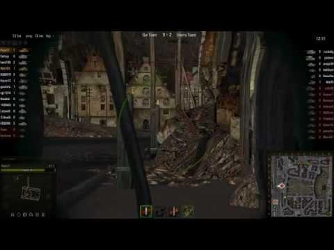 World Of Tanks - KV-3 game, Himmelsdorf encounter