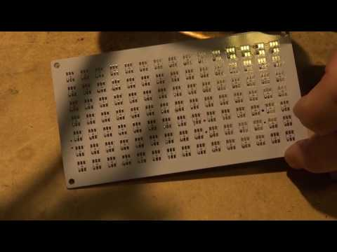Banggood DIY DS3231 Big digit dot matrix clock build