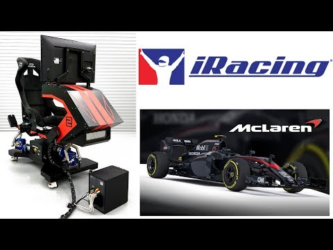 V-Maxx3' 3DOF Racing Motion Simulator - iRacing - смотреть