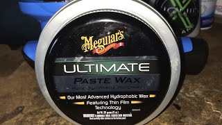 Meguiars Ultimate Paste Wax Review and Application